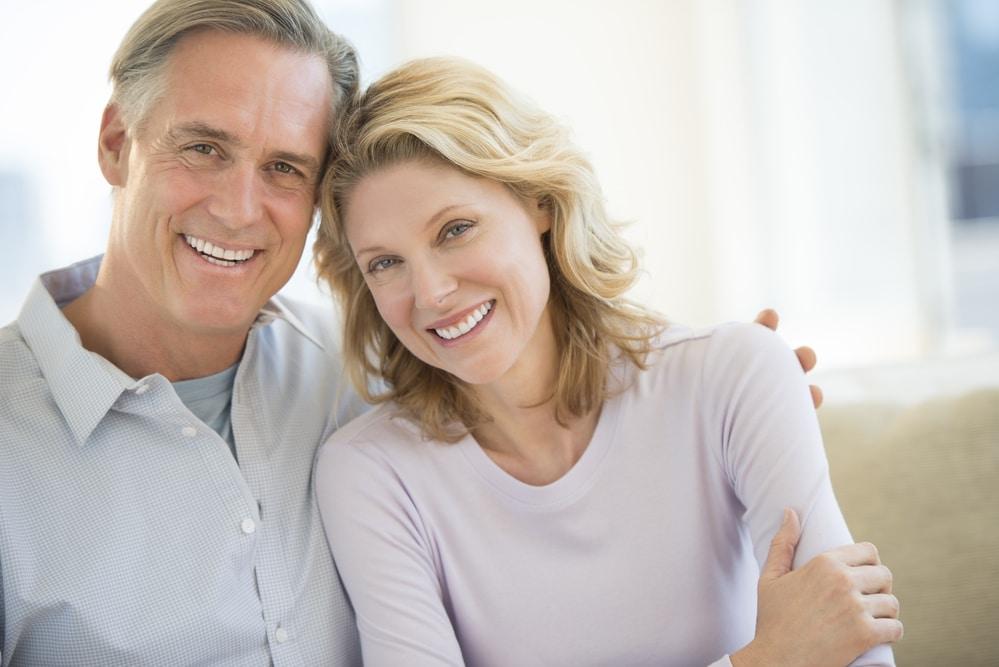 Porcelain Veneer Photo Smiling Couple